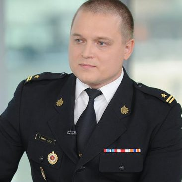 Szymon Kokot (Fire Training Officer, Firefighter Tactical Training Centre, Olsztyn)